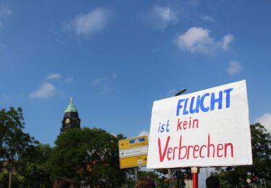 Demonstration gegen Abschiebehaft