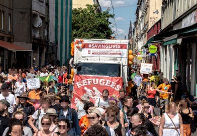 Seebrücke – Solidaritätsdemonstration