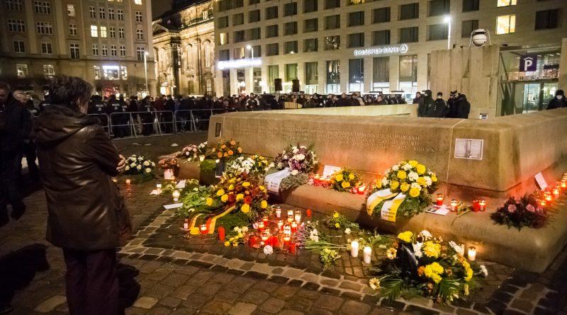 13. Februar 2019 von Stillem Gedenken bis zum Bombenterror