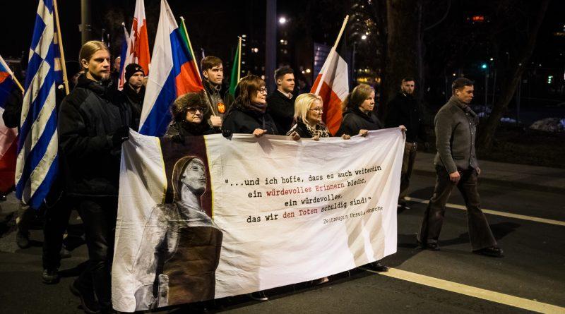 Neonazi-Demonstration in Dresden