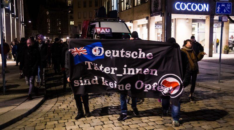 Demonstration gegen Pegida in Dresden am 11.02.2019
