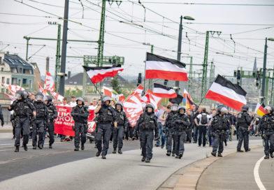 Demonstrationen rund um den 1.Mai 2019 in Dresden