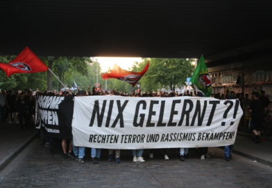 Demo gegen rechte Gewalt in Hamburg