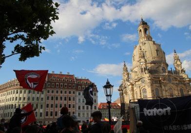 Pfefferspray- und Schlagstockeinsätze gegen Demonstrant*innen in Dresden
