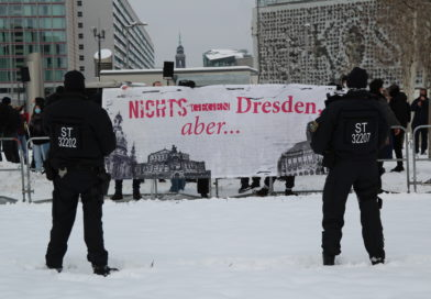 Ein etwas anderer 13. Februar in Dresden