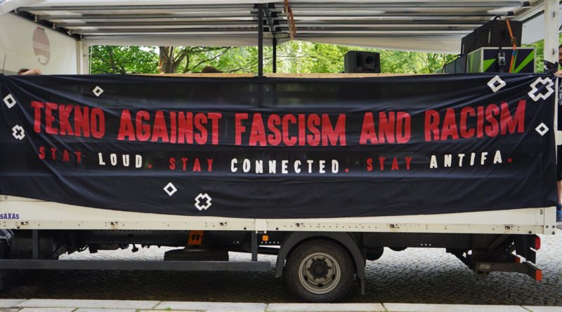 Tekno against fascism and racism