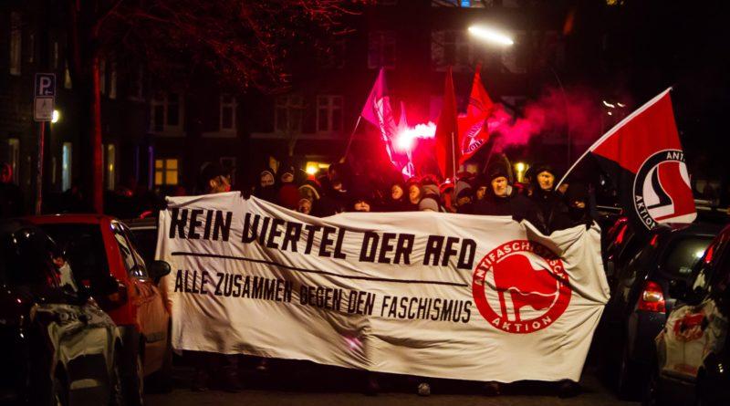 Demonstration gegen den AFD Parteitag Hamburg