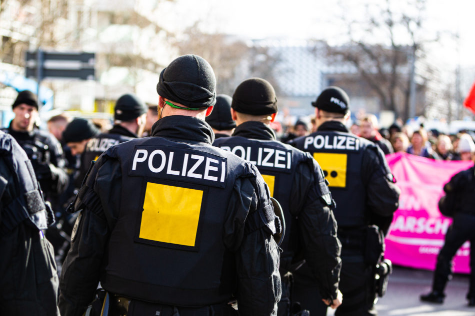 Demonstration gegen die Neo-Nazi Demonstration in Dresden am 15. Februar