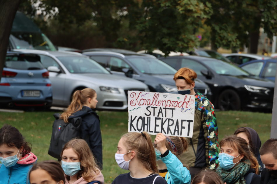 Friday for Future Demo in Dresden