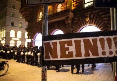 Demonstration gegen das Hamburger Polizeigesetz