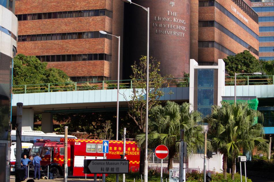 Die Polytechnische Universität in Hongkong