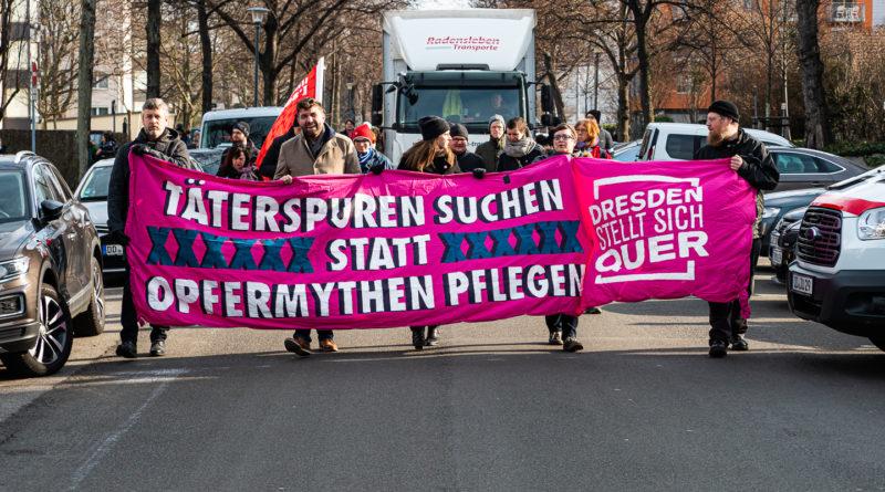 Täterspuhren Mangang in Dresden