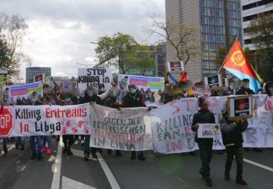 Dresden: Solidarität mit geflüchteten Menschen aus Eritrea in Libyen