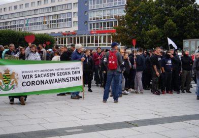 Querdenker Demonstration in Bautzen