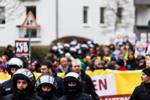 AFD Parteitag Hannover (56 von 70)