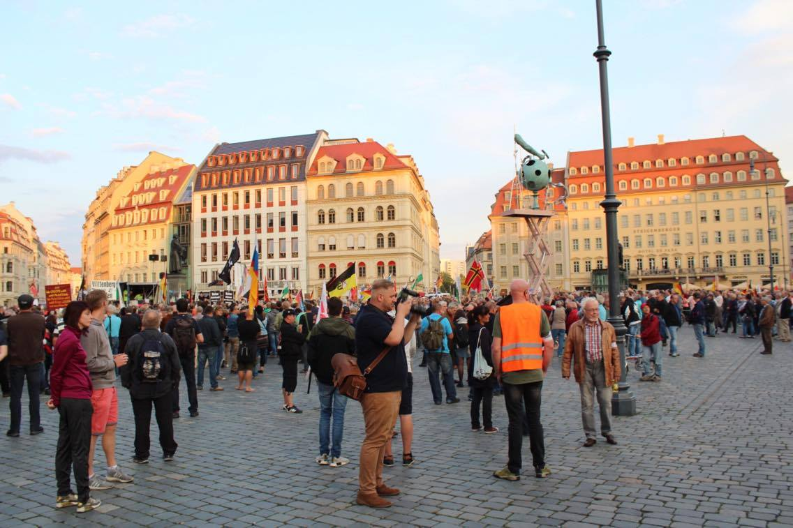 Montags In Dresden Film