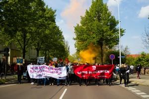 01. Mai 2017 Die Rechte in Halle-11