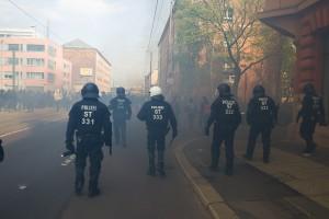 01. Mai 2017 Die Rechte in Halle-15