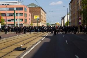 01. Mai 2017 Die Rechte in Halle-17