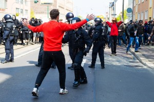 01. Mai 2017 Die Rechte in Halle-18
