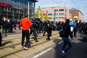 01. Mai 2017 Die Rechte in Halle-33