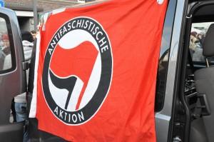 antifa-flagge