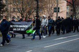 Demonstrationen am 10. Februar 2018 in Dresden