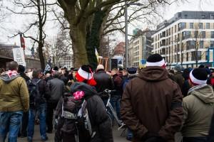 11. Februar Neonazi Demos in Dresden-10