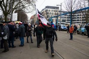 11. Februar Neonazi Demos in Dresden-12