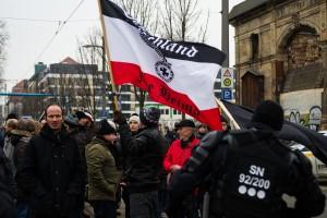 11. Februar Neonazi Demos in Dresden-16