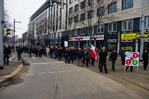 11. Februar Neonazi Demos in Dresden-17