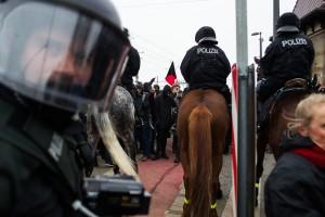 11. Februar Neonazi Demos in Dresden-20