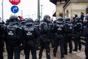 11. Februar Neonazi Demos in Dresden-22