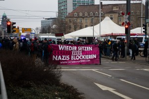 11. Februar Neonazi Demos in Dresden-25