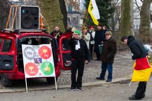 11. Februar Neonazi Demos in Dresden-3