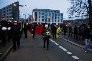 11. Februar Neonazi Demos in Dresden-30