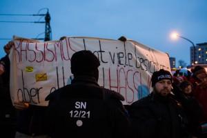 11. Februar Neonazi Demos in Dresden-33