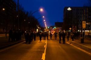 11. Februar Neonazi Demos in Dresden-34