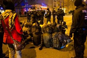 11. Februar Neonazi Demos in Dresden-35