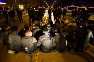 11. Februar Neonazi Demos in Dresden-36