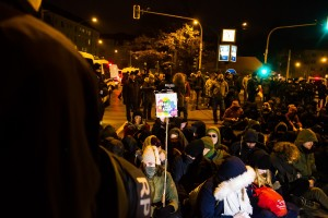 11. Februar Neonazi Demos in Dresden-37