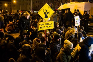 11. Februar Neonazi Demos in Dresden-38