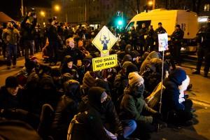 11. Februar Neonazi Demos in Dresden-39