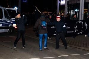 11. Februar Neonazi Demos in Dresden-40