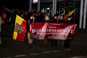 11. Februar Neonazi Demos in Dresden-41