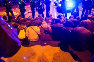 11. Februar Neonazi Demos in Dresden-46
