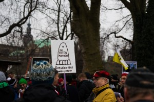 11. Februar Neonazi Demos in Dresden-5