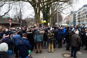 11. Februar Neonazi Demos in Dresden-7