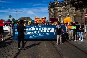 11 Juni 2017 Abschiebe Demo in Dresden-10