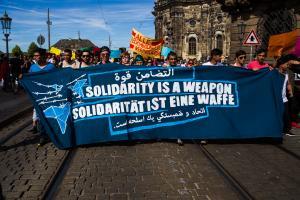 11 Juni 2017 Abschiebe Demo in Dresden-11